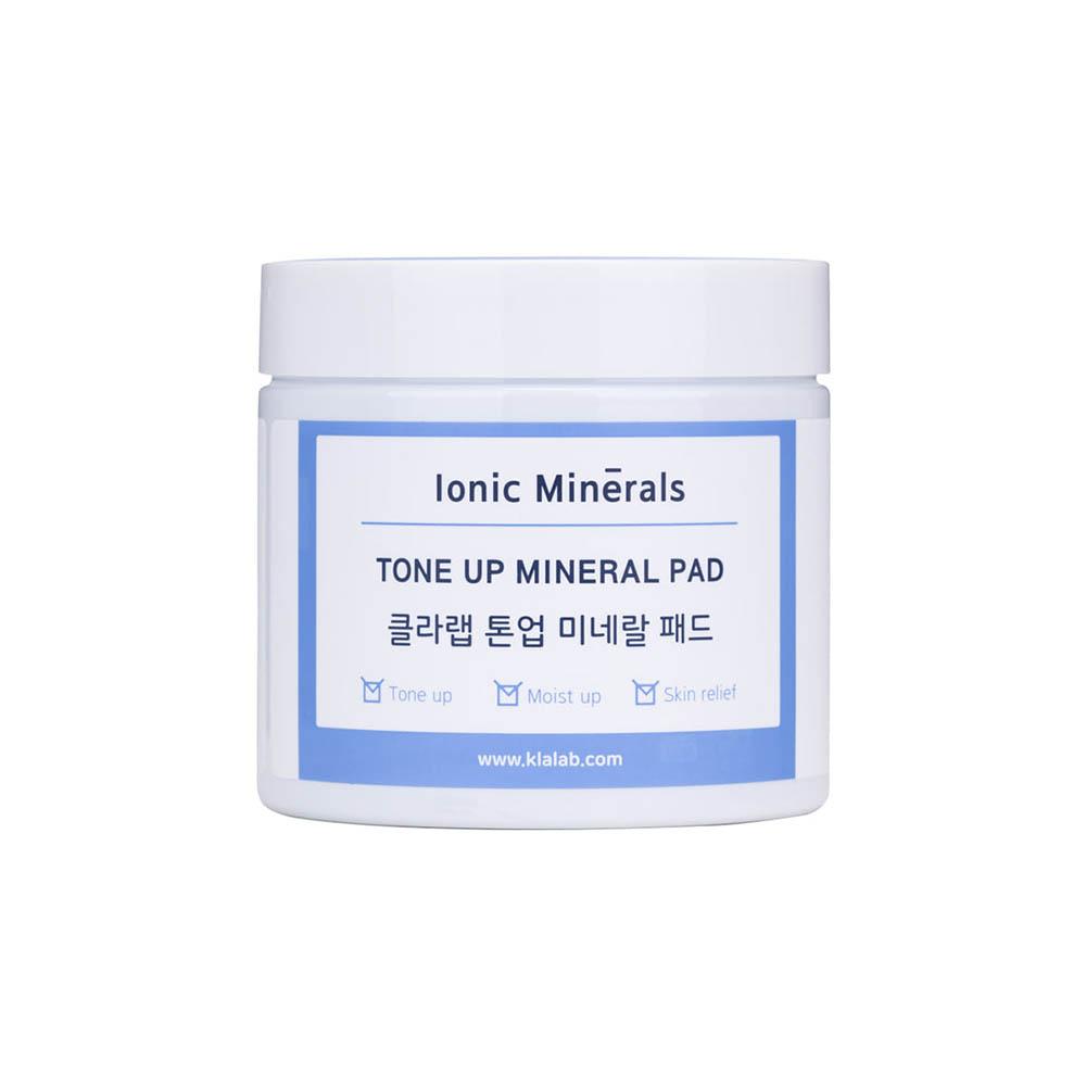 클라랩 톤업 미네랄 톤업 패드 (손세정제(30ml) + 파우치샘플10장 증정)