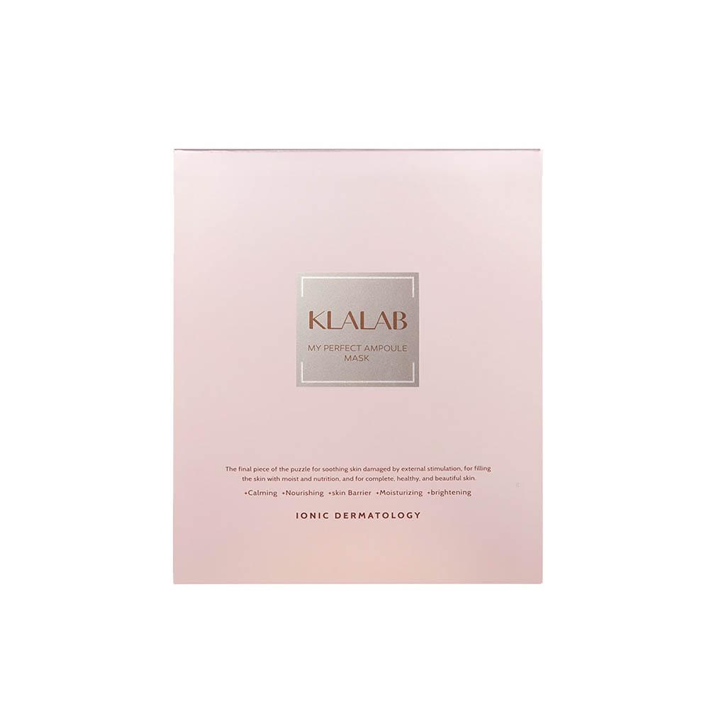 클라랩 마이 퍼펙트 앰플 마스크팩 5매 (손세정제(30ml) + 파우치샘플10장 증정)