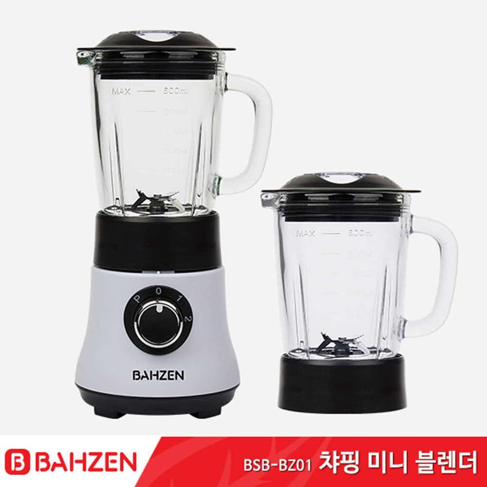 바흐젠 챠밍 강화유리 고속 블렌더믹서기BSB-BZ01