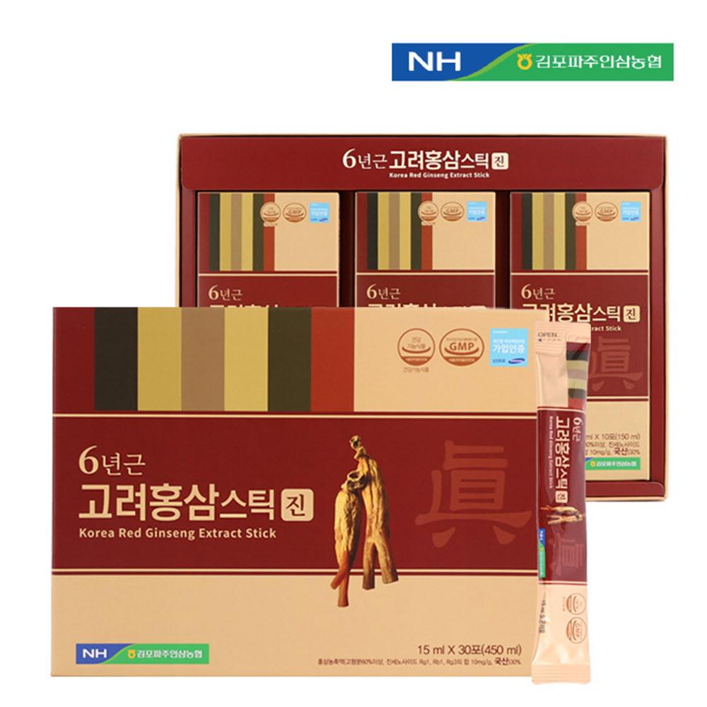 김포파주인삼농협 고려홍삼스틱(진) 15ml x 30포