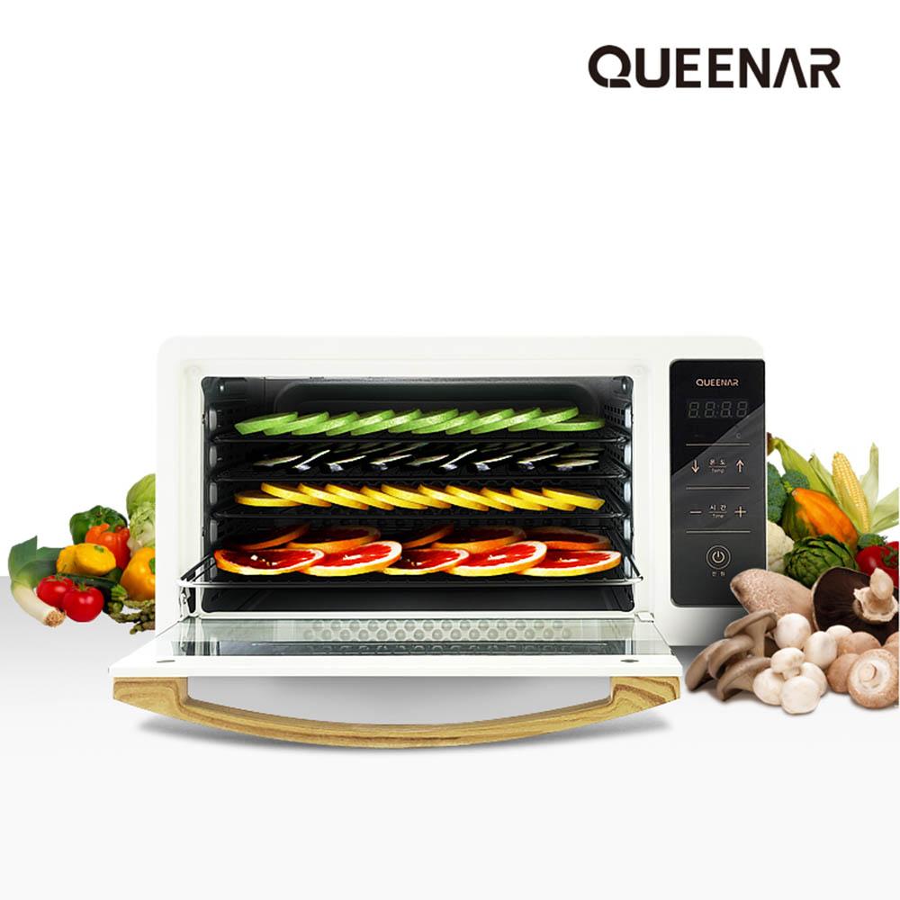 퀸나 에어플로우 디지털 식품건조기 QNFD-8000W, QNFD-8000B