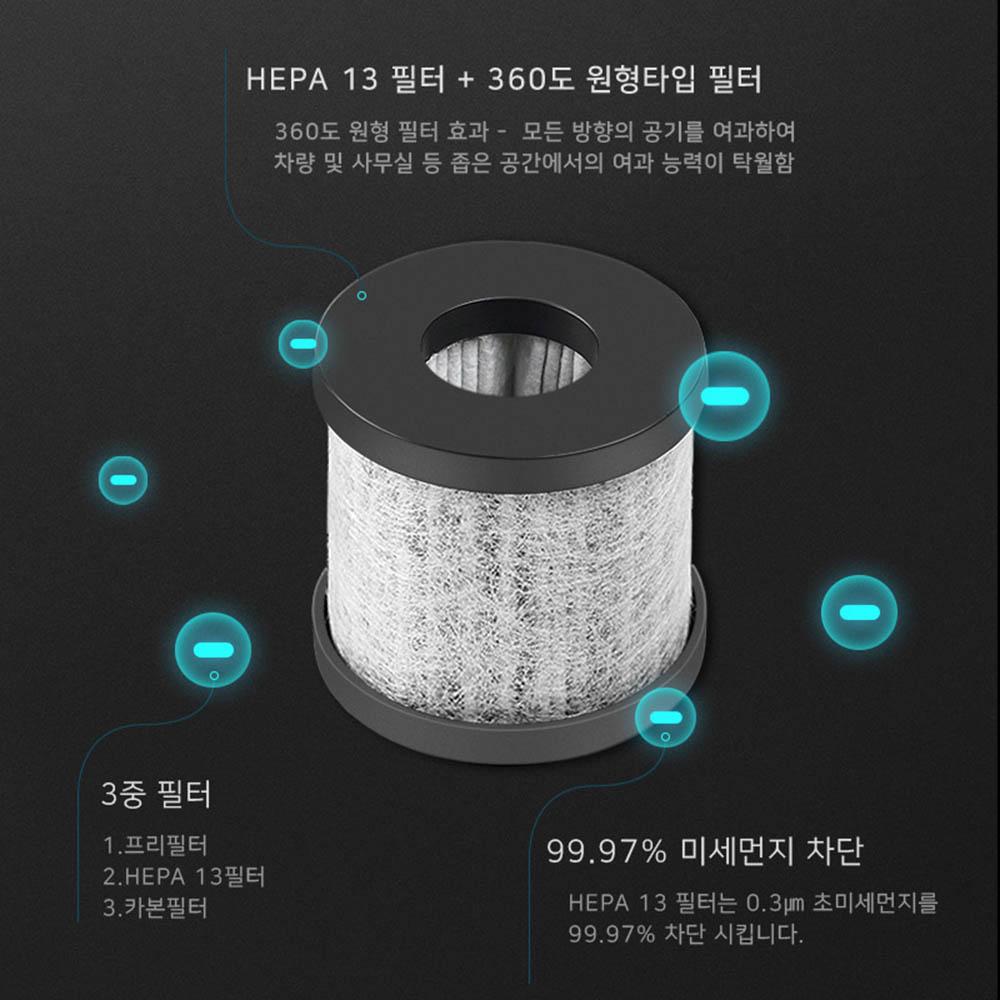 에스로체 휴대용 공기청정기 AP-3001 필터