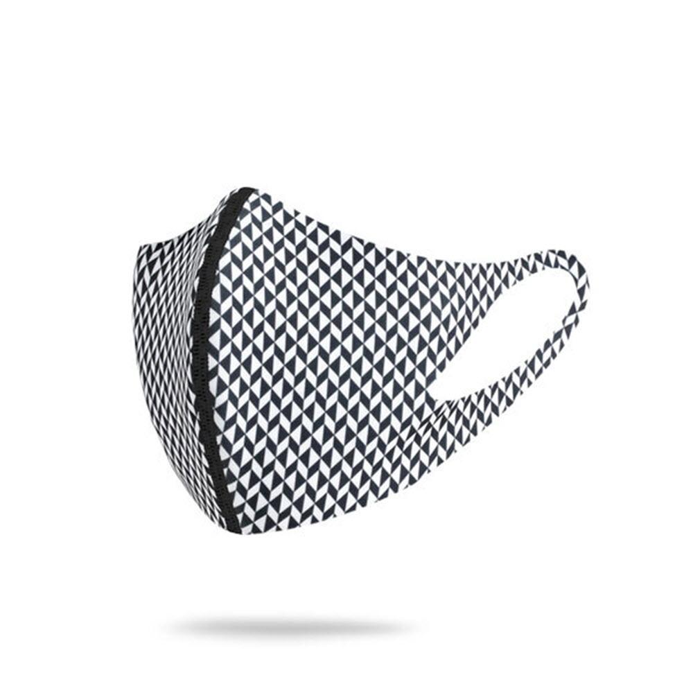 카르마스크 기능성원단 양면형 패션 연예인 마스크 3D 입체 항균 자외선차단 캐주얼 BNW