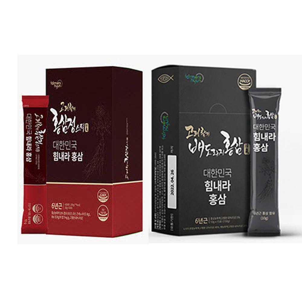 7월이벤트 1+1패키지특별행사 고려활기홍삼정스틱+고려활기배도라지홍삼