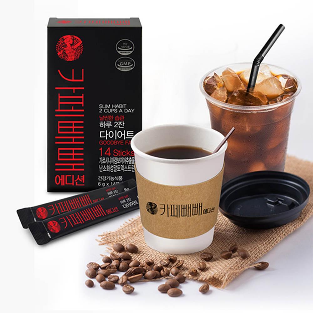 카페뺴뺴 에디션 가르시니아 다이어트 커피 6g x 14포