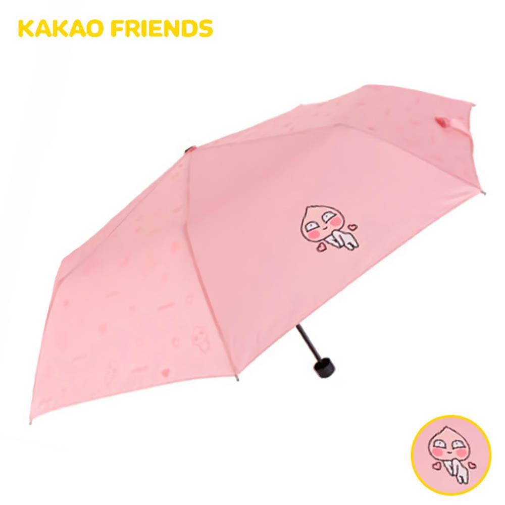 카카오프렌즈 러블리도트 3단 우산 코랄핑크 (캐릭터손잡이) GUKTU30007
