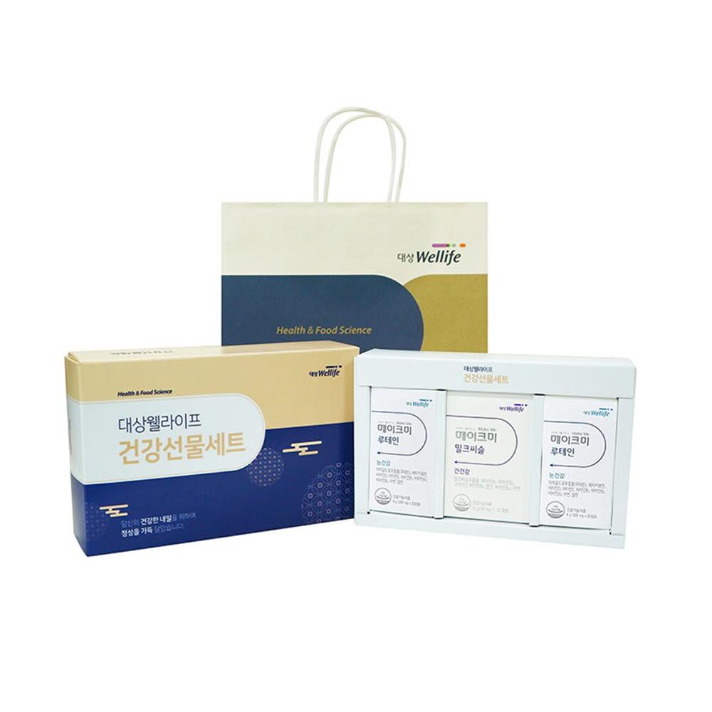 대상웰라이프 건강선물세트(간건강+눈건강/전용쇼핑백)