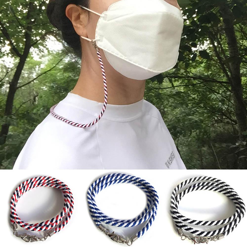 휴대와 사용이 간편한 마스크목걸이(4P) (색상랜덤발송)