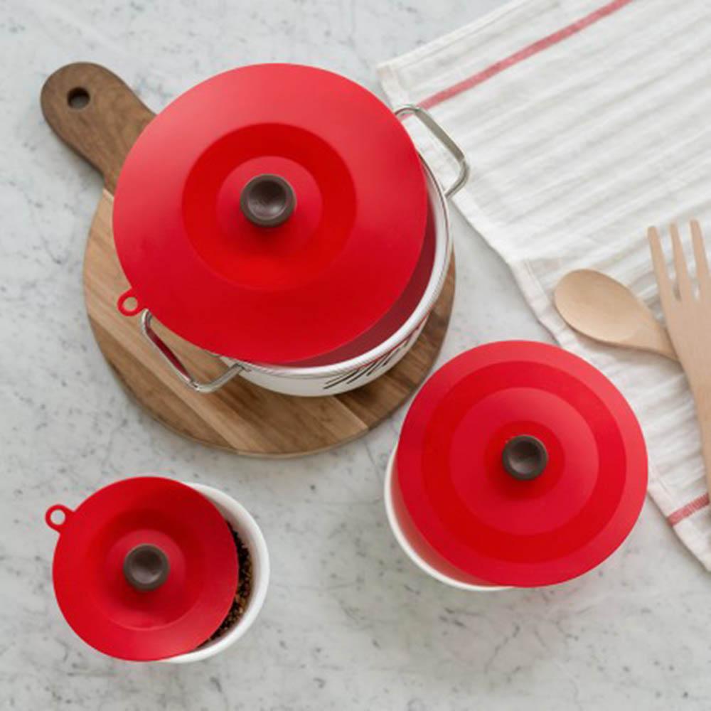 플라이토 실리콘 다용도 그릇덮개 대중소 2세트