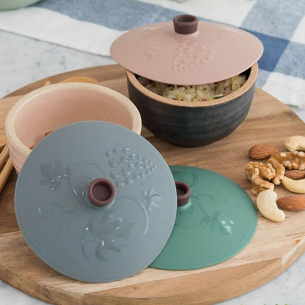 플라이토 실리콘 NEW 다용도 그릇덮개 대중소 2세트