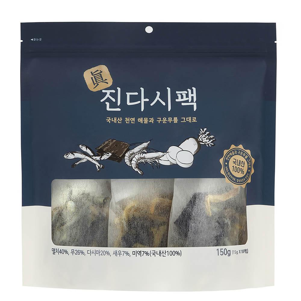 서림식품 진다시팩(15g x 10팩-1봉,총 10봉)