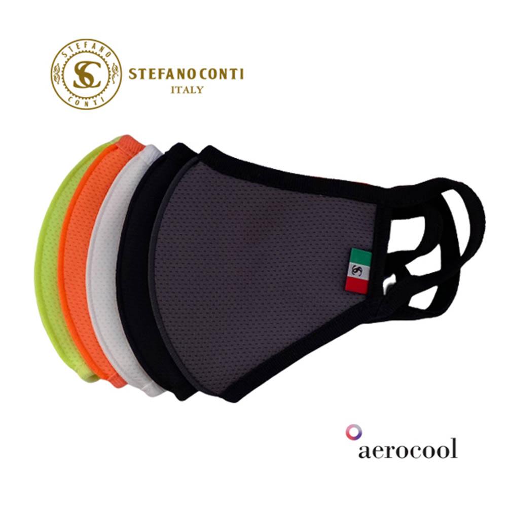 스테파노콘티 100% 국내생산 효성 에어로쿨 원단 패션마스크