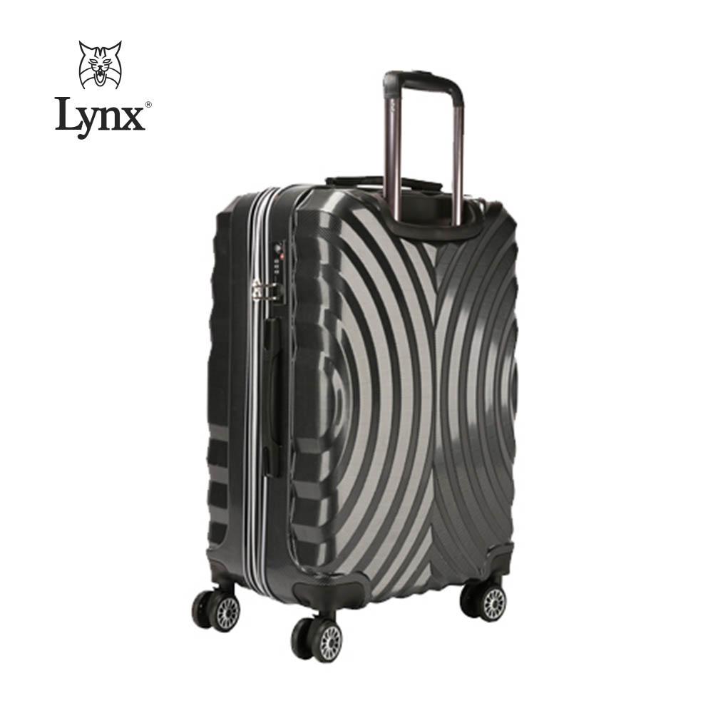 [Lynx] 링스 월넛 여행용가방 24인치 (블랙) OKK-021224