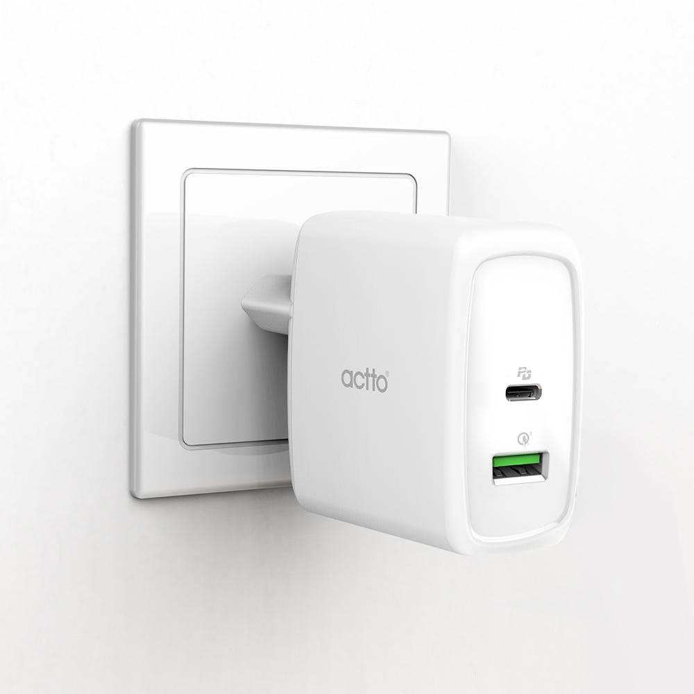 엑토 점보 TYPE C PD+ QC3.0 USB 충전기 MTA-25
