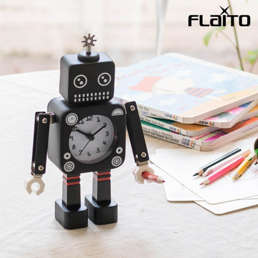 플라이토 로봇 무소음 인테리어 탁상시계