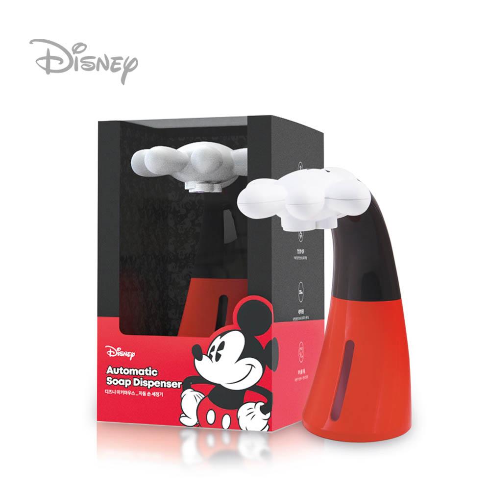 디즈니 미키마우스 자동 손세정기 디스펜서 + 세정제 용액
