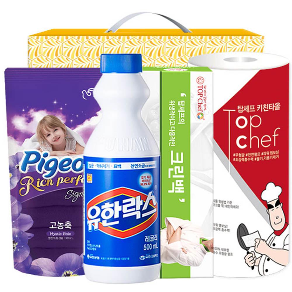 피죤 유한락스 크린백 키친타올(4종)