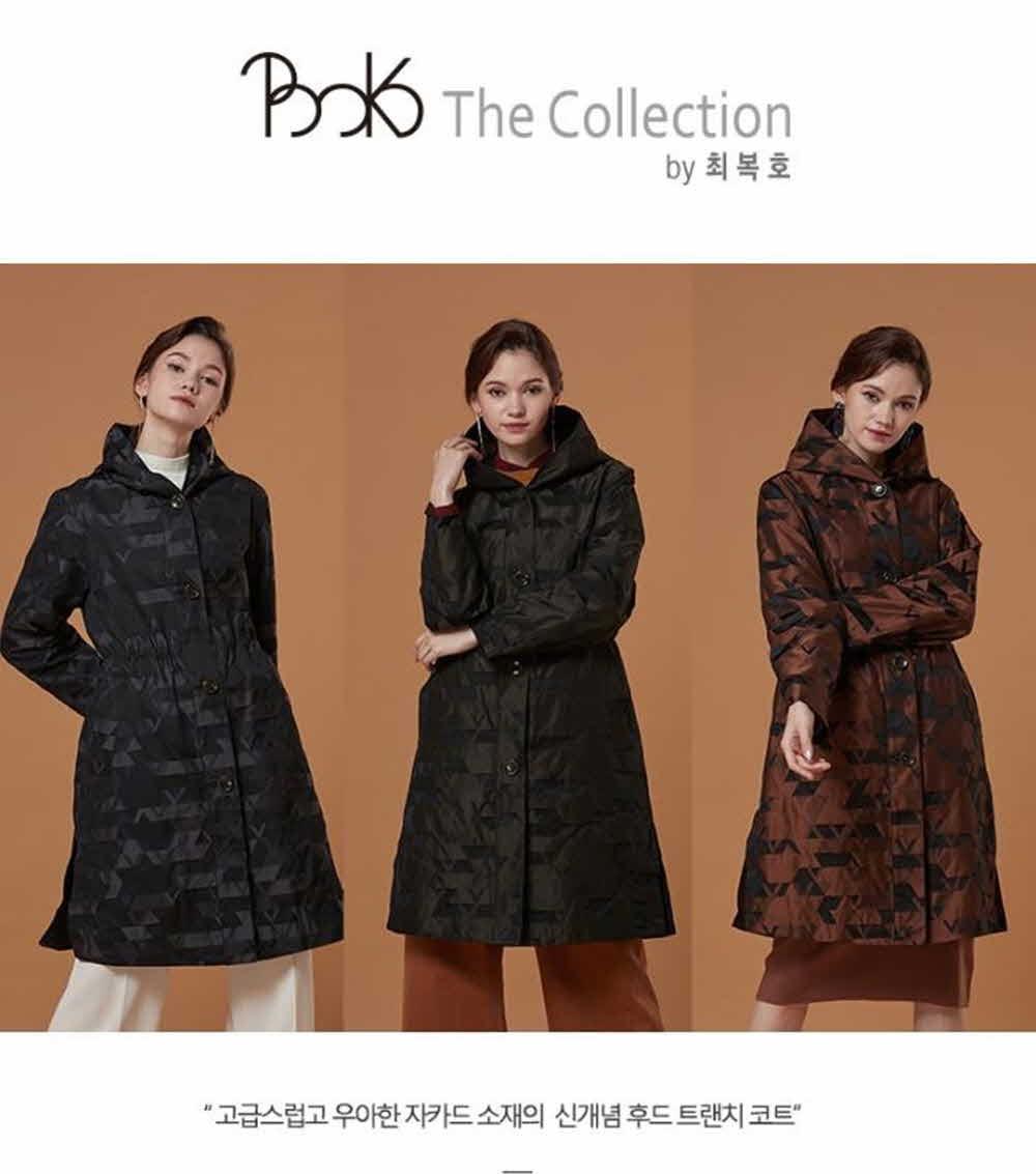 BOKO The Collection 자카드 트렌치 코트 3종중 선택1