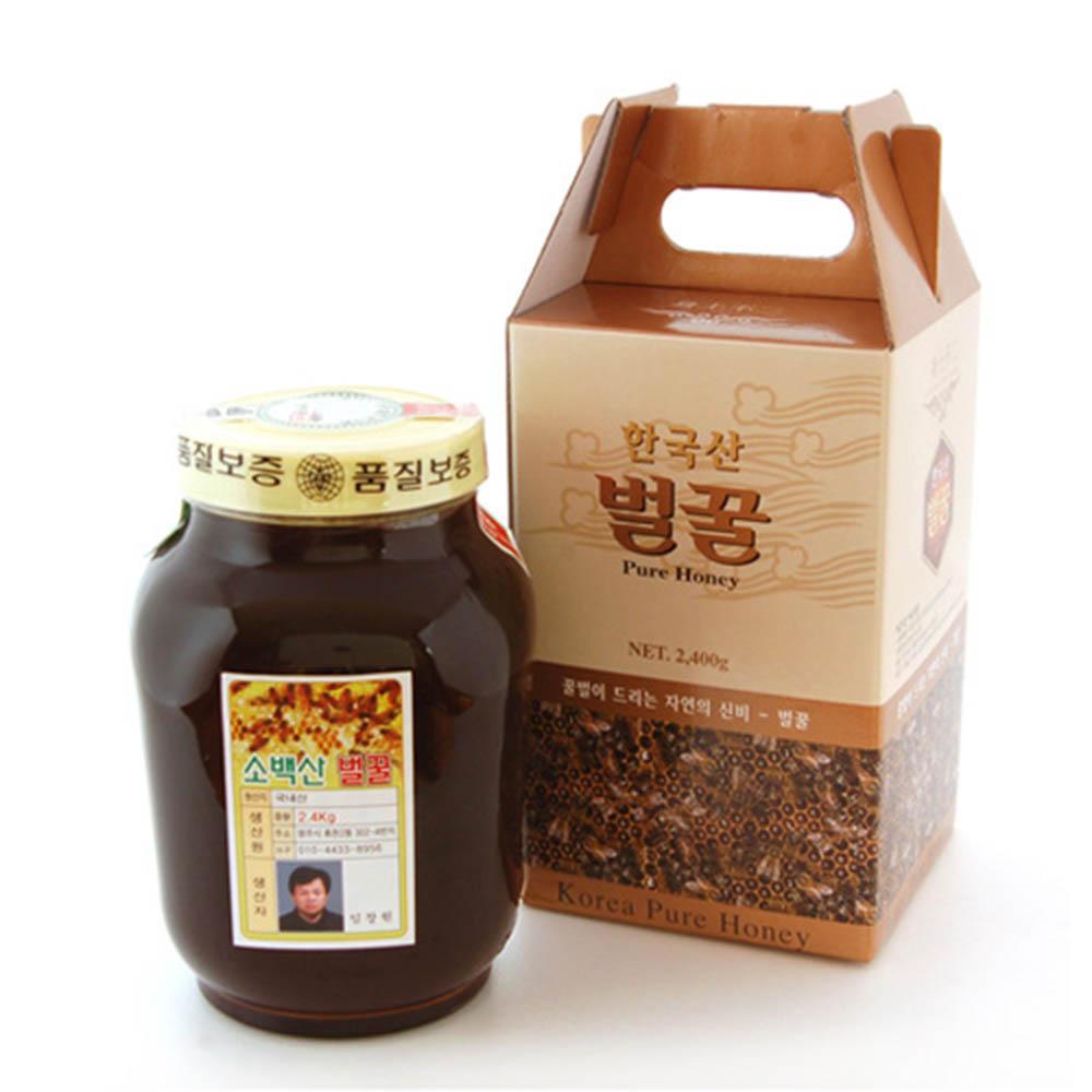 [K10-105]한국양봉협회 품질인증_소백산 밤나무 벌꿀 4호