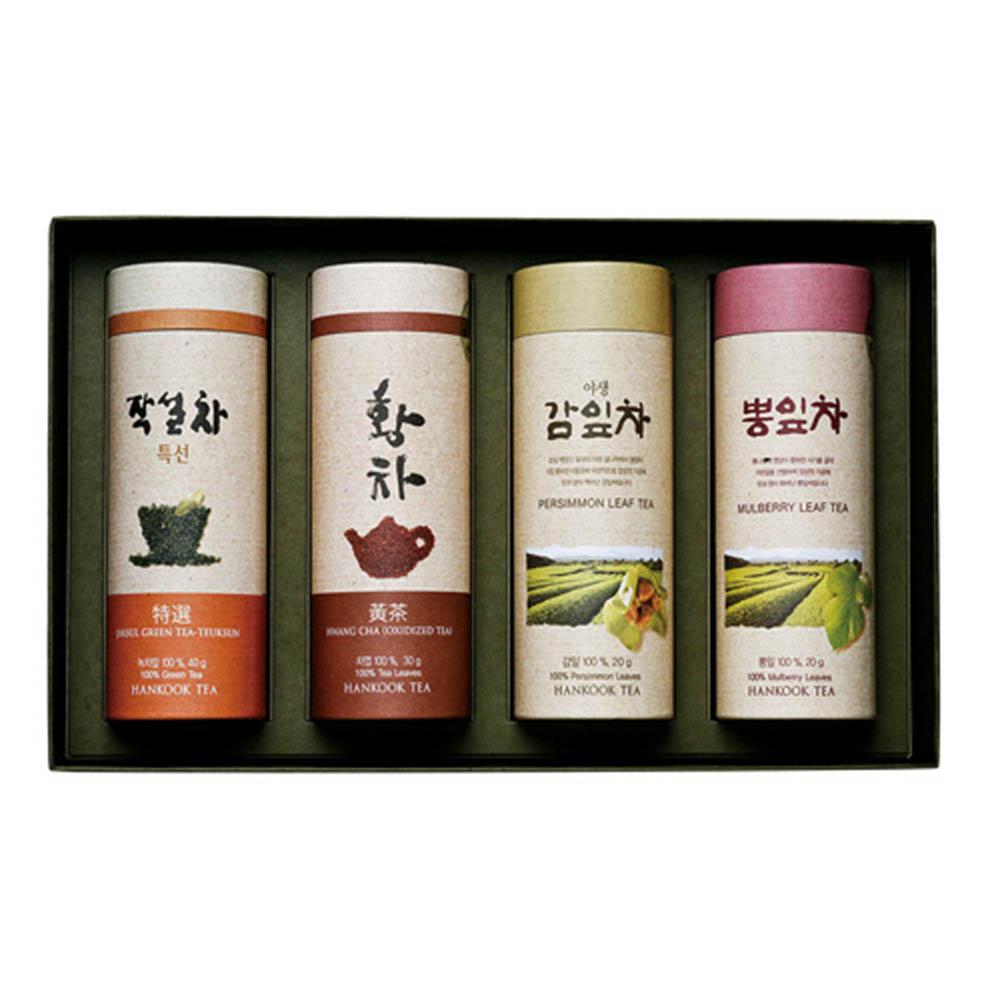 [M22-194]대한민국 식품명인 제54호_서민수 차(茶)명인 사계절세트 2호