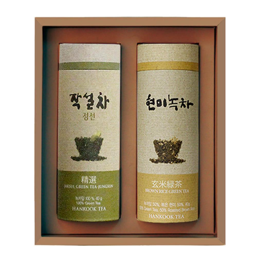 [M22-210]대한민국 식품명인 제54호_서민수 차(茶)명인 정선, 현미 소지관 선물세트