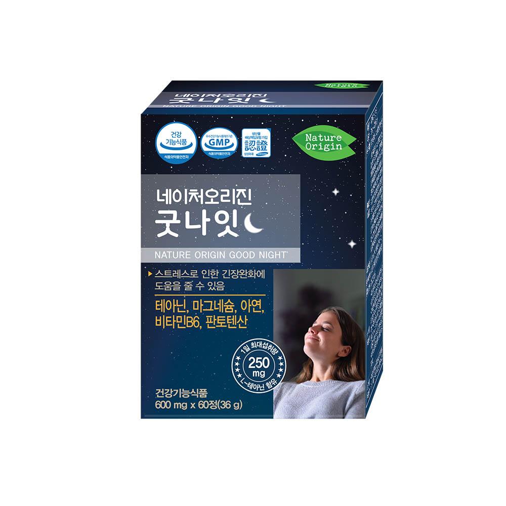 네이처오리진 굿나잇 600mg x 60정(1개월분)
