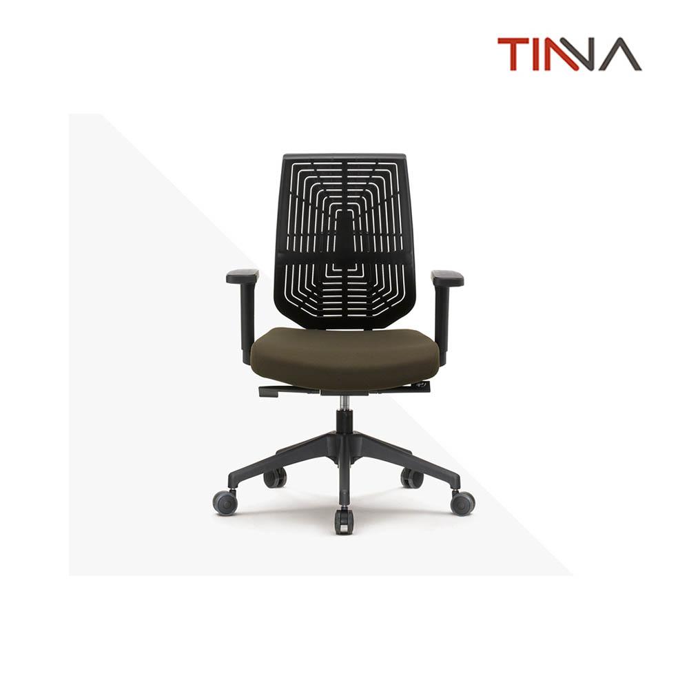 티나 씨토 플라스틱쉘 사무용 의자 블랙 CBO211VPF