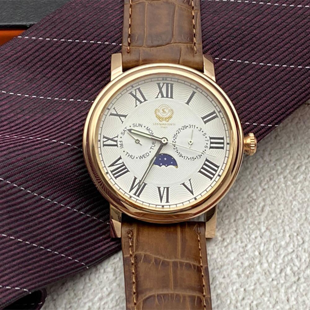 스테파노콘티 로즈문페이스 손목시계