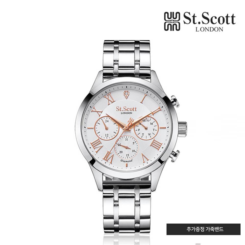 세인트스코트 메탈 시계 ST7501M