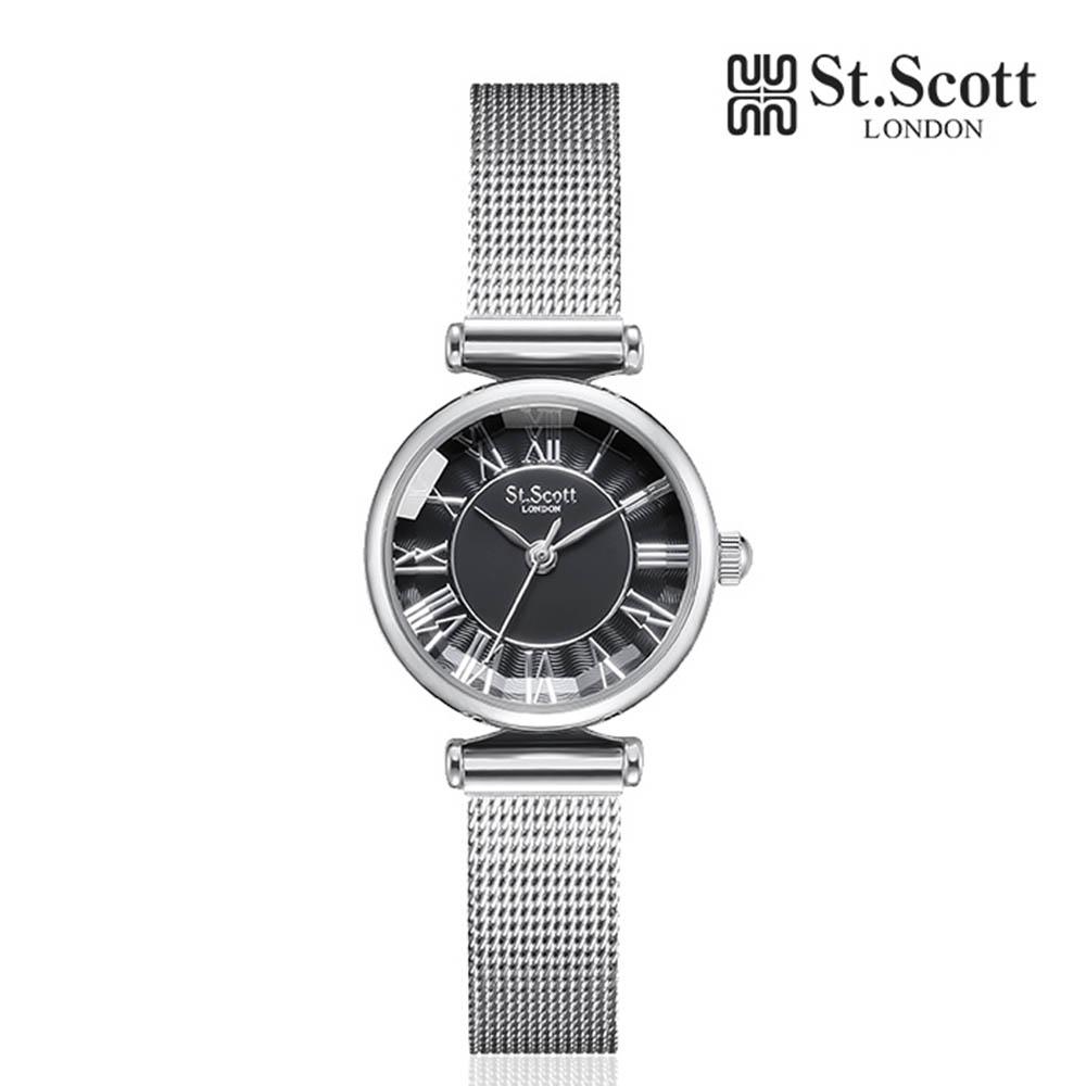 세인트스코트 메탈 시계 ST7026