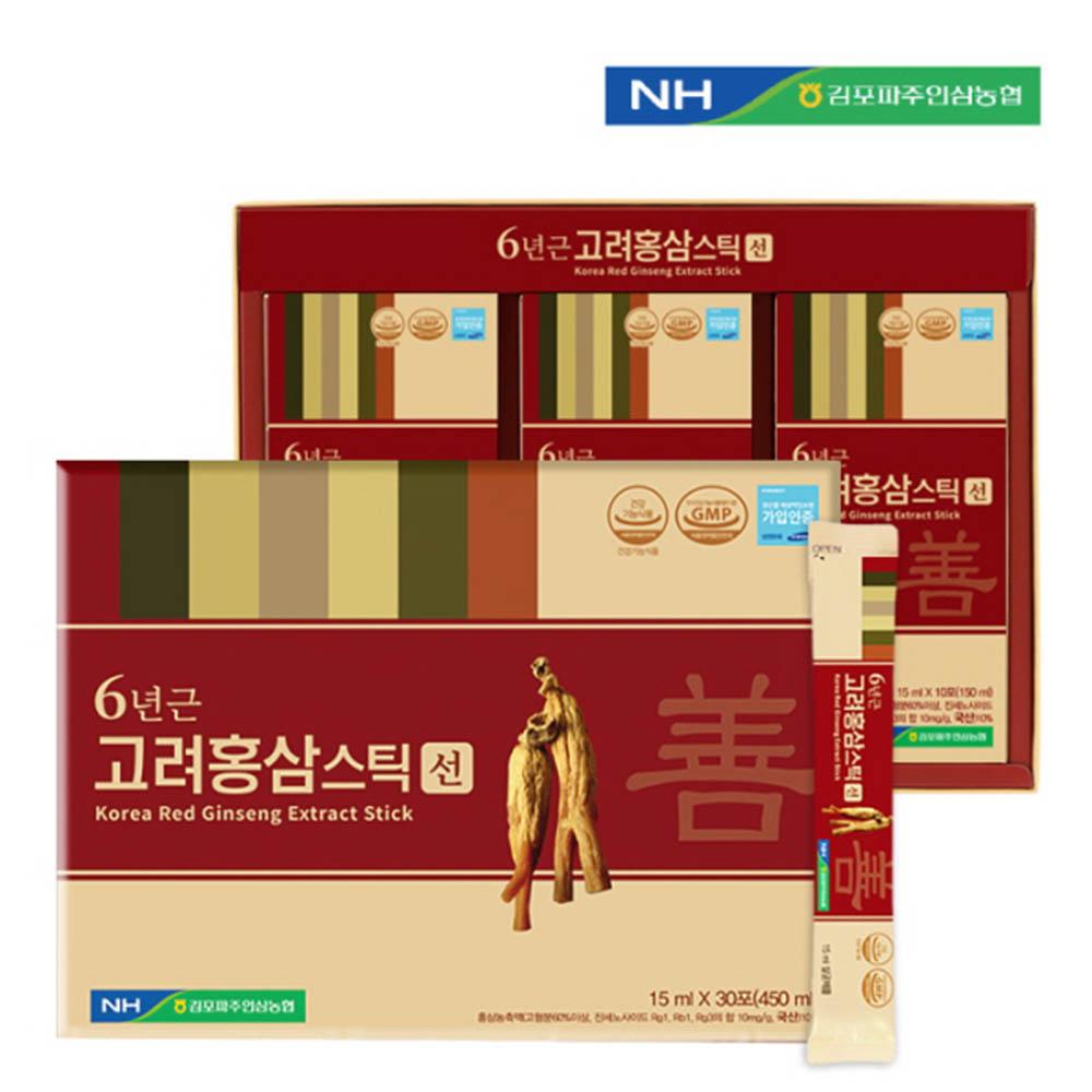 김포파주인삼농협 고려홍삼스틱(선) 15ml x 30포