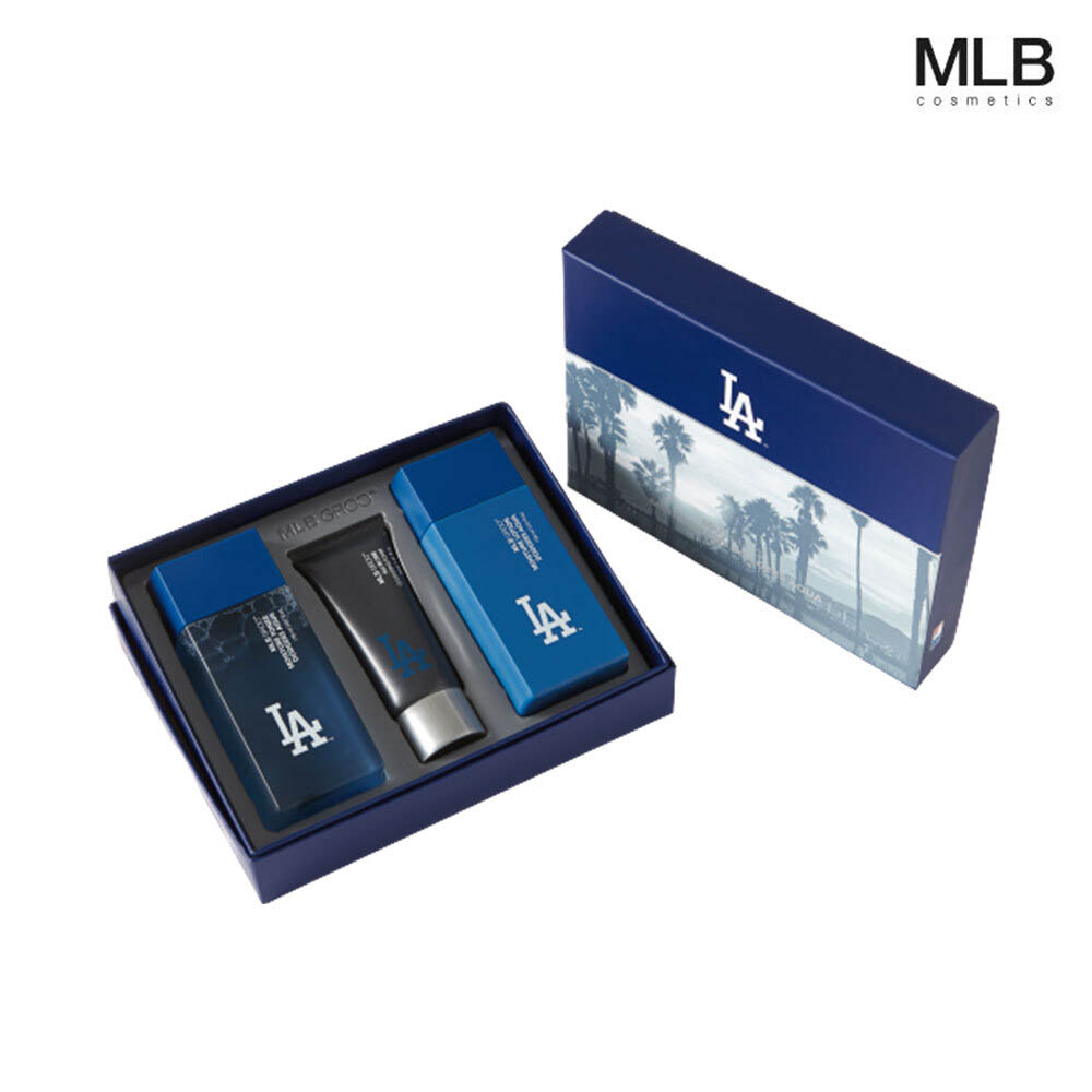 MLB 코스메틱 모이스처 선물세트 (다저스 아쿠아)