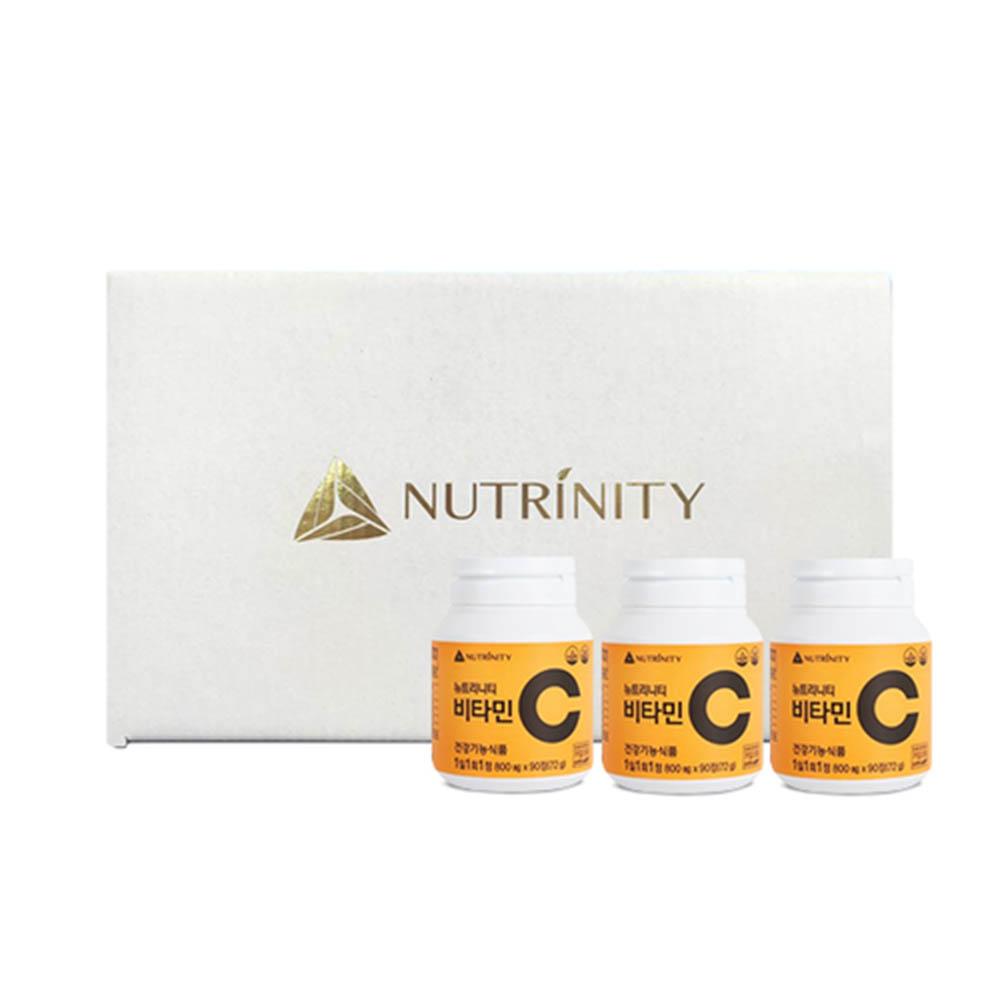 [뉴트리니티] 비타민C + 비타민C + 비타민C (90정 90일분)