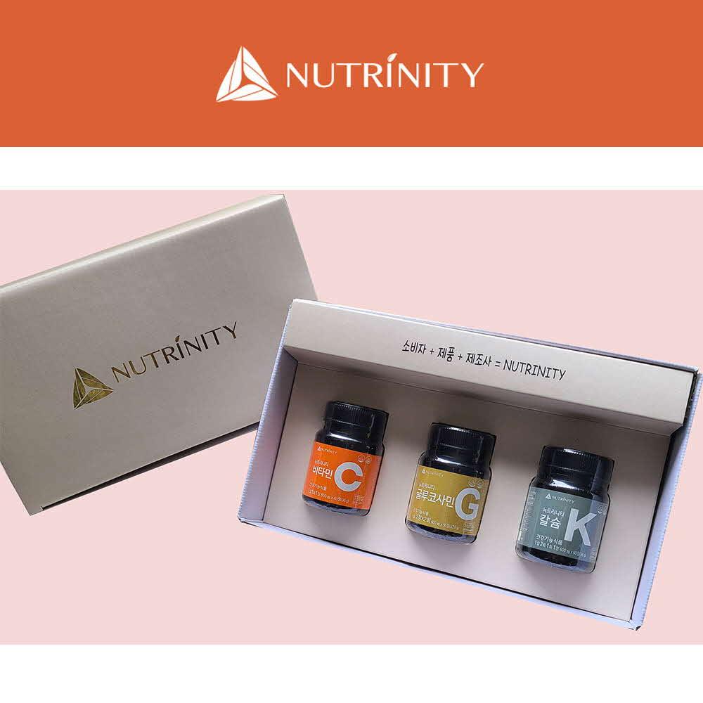 [뉴트리니티] 비타민C + 글루코사민 + 칼슘 (45일분 + 14일분 + 30일분)