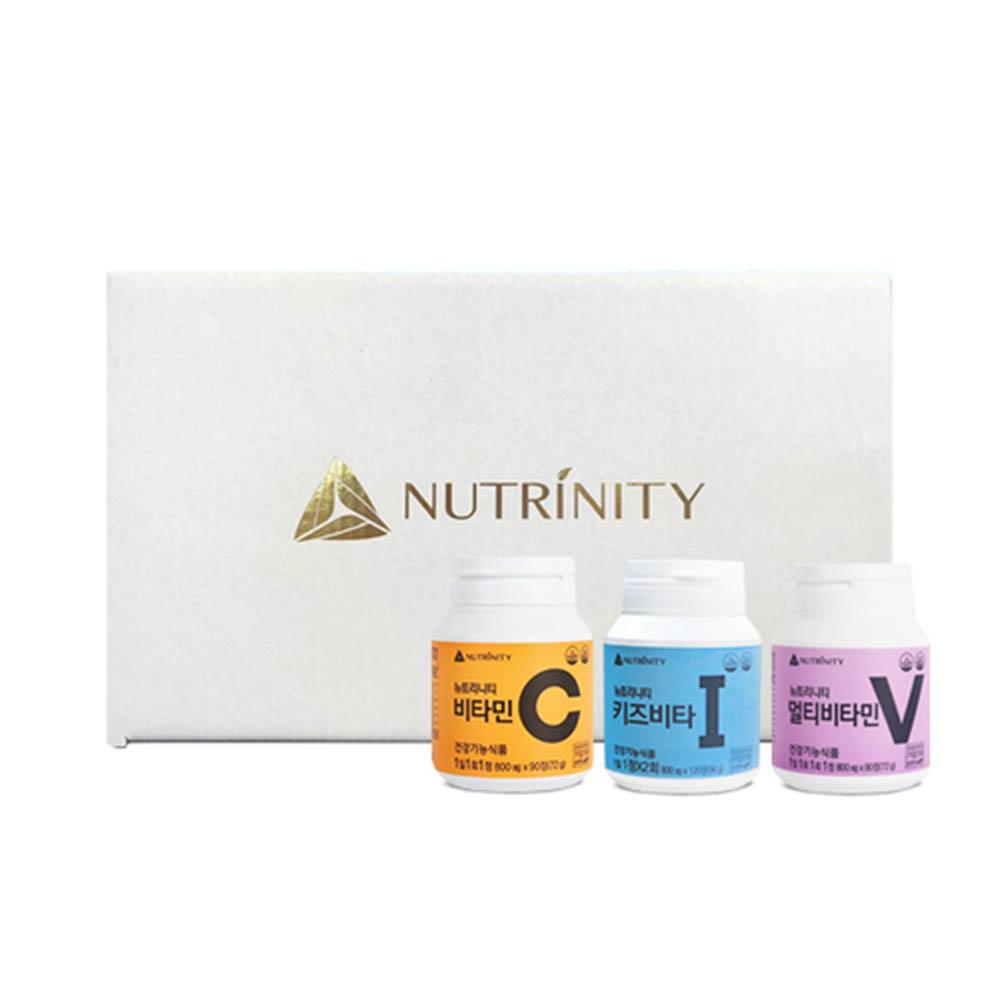 [뉴트리니티] 비타민C + 키즈비타 + 멀티비타민 (90일분 + 60일분 + 90일분)