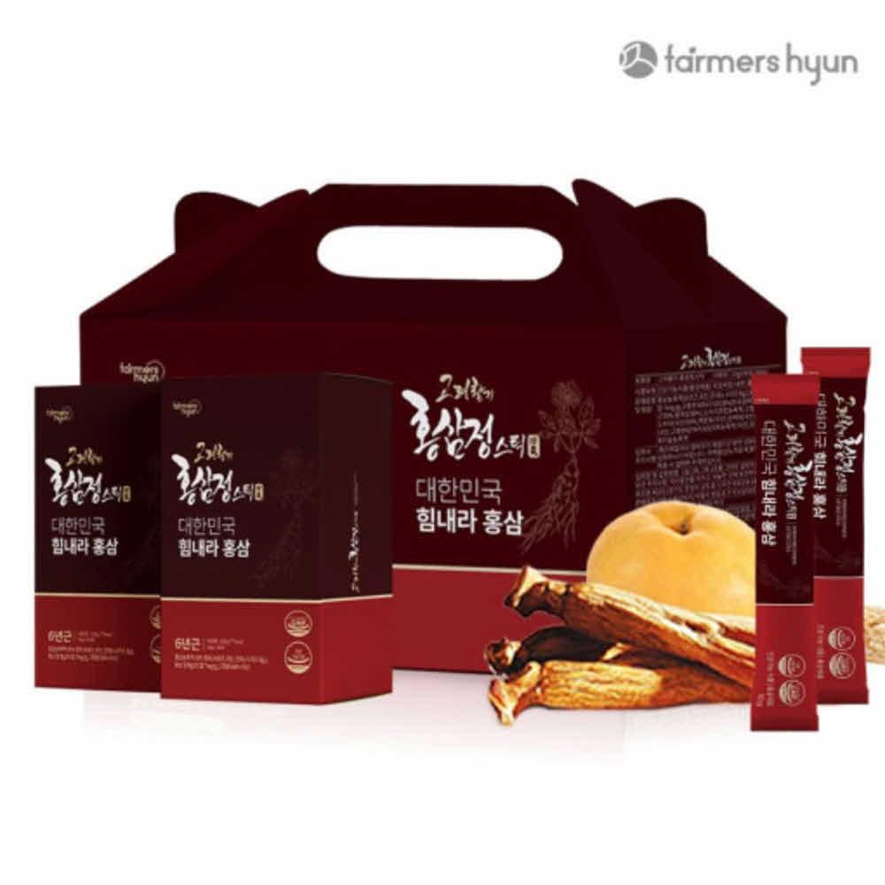 파머스현 홍삼정스틱 2박스60포