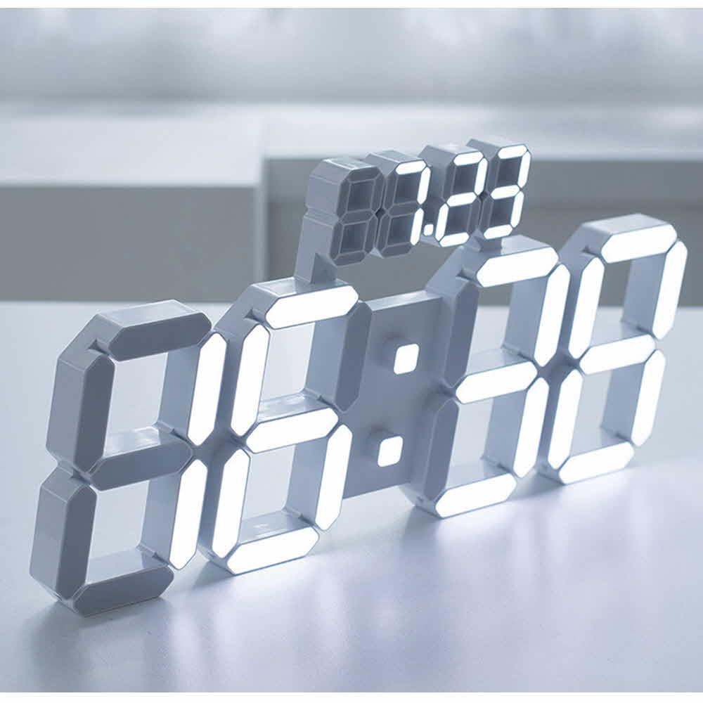 플라이토 3D LED 벽시계 38cm 데이즈