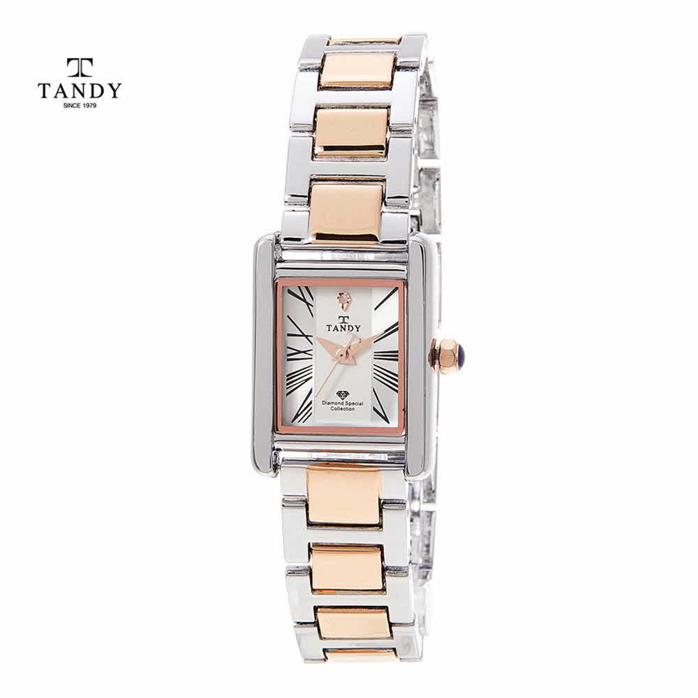 탠디 다이아몬드 고급메탈 손목시계 T-3912 M Combi