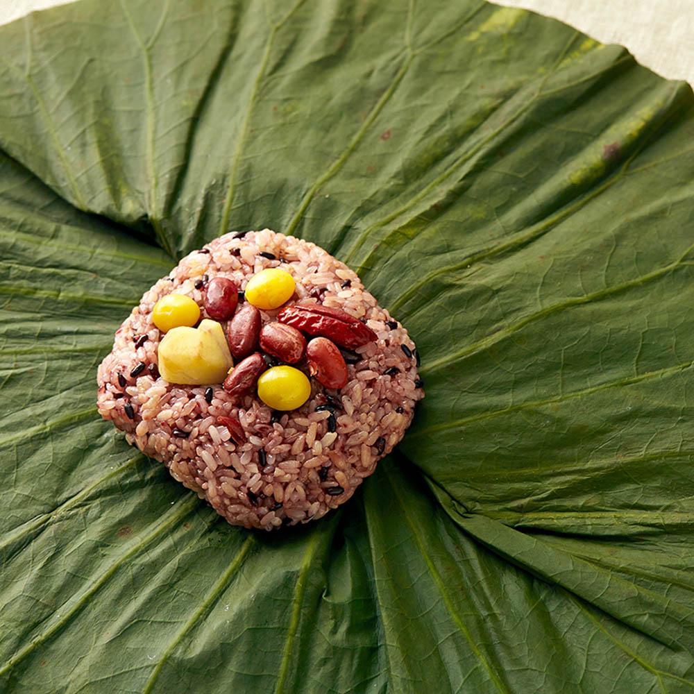 올바른 정반가 찹쌀 연잎밥 5개+현미 연잎밥 5개