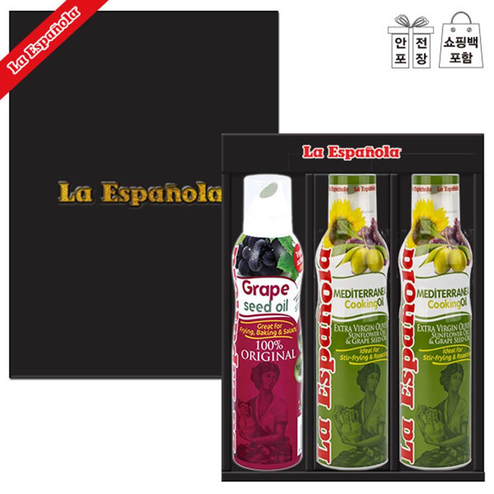 (스페인직수입)에스파뇰라 스프레이3종(포도/지중해요리유2P)-상하.고급쇼핑백