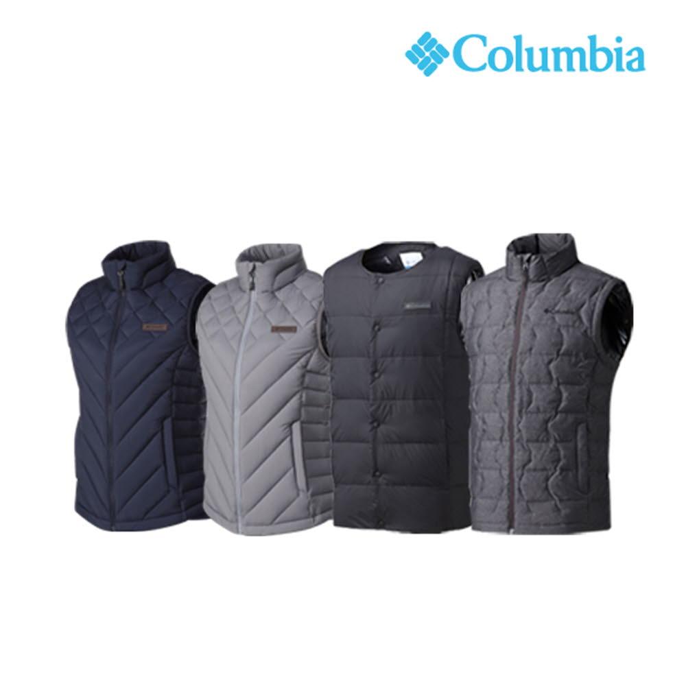 컬럼비아 Columbia 남여 경량다운조끼 4종 택1종 CZ4-YMG948,YMG806,YLK100