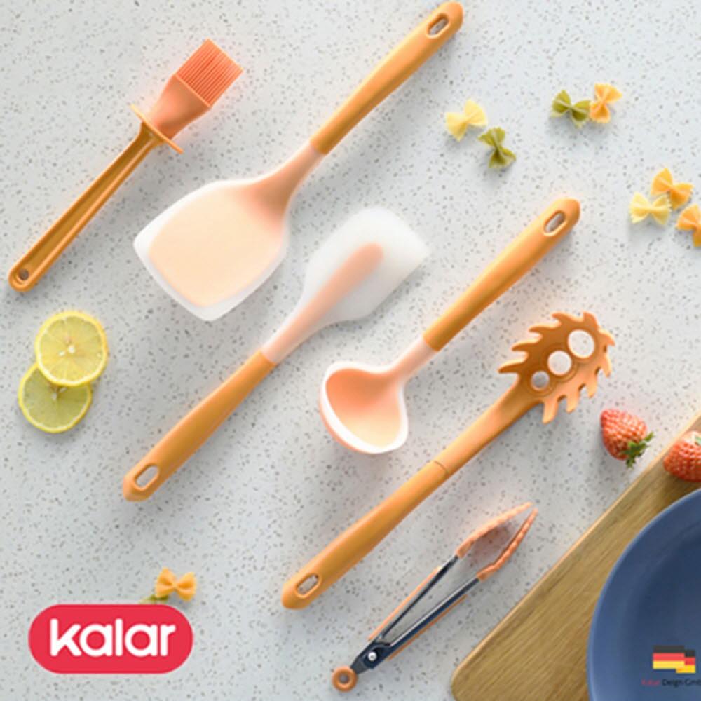 Kalar 칼라 실리콘 키친툴 6종세트