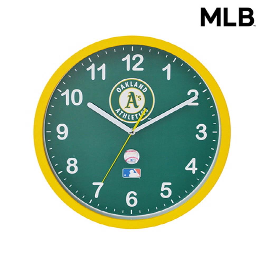 MLB 오클랜드 벽시계