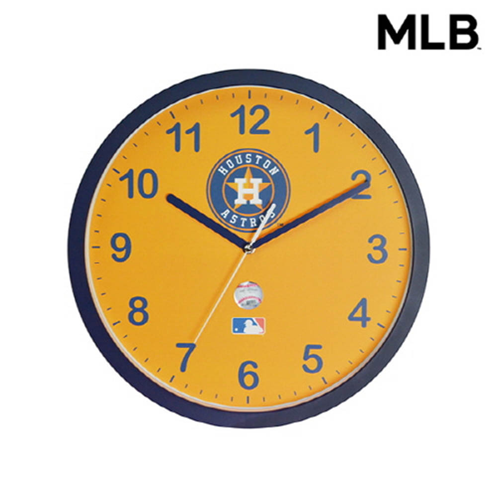 MLB 휴스턴 벽시계
