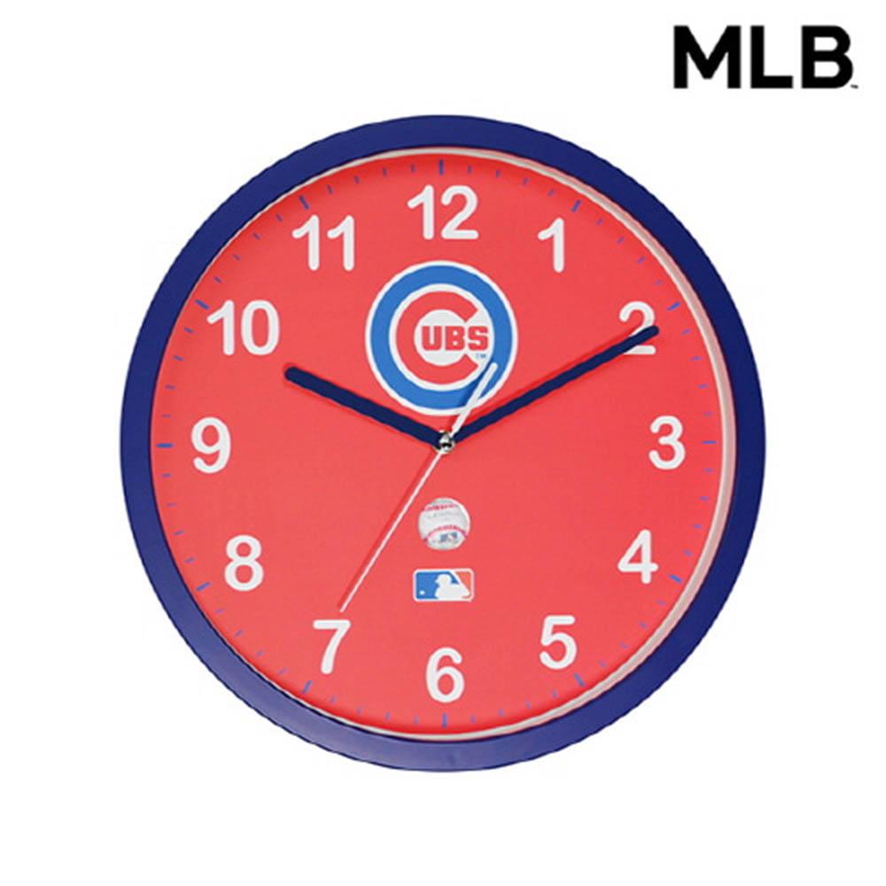MLB 시카고컵스 벽시계
