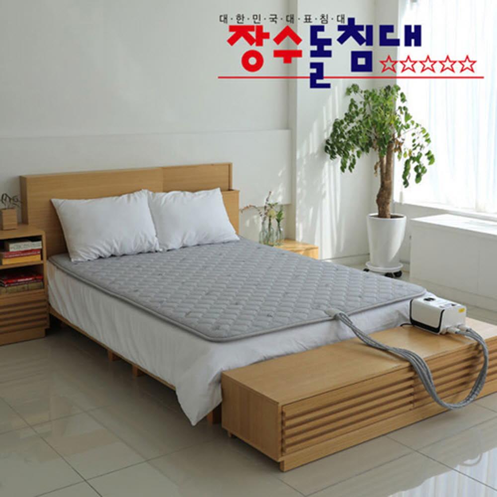 장수돌침대 온수매트 싱글 JSB-0519S