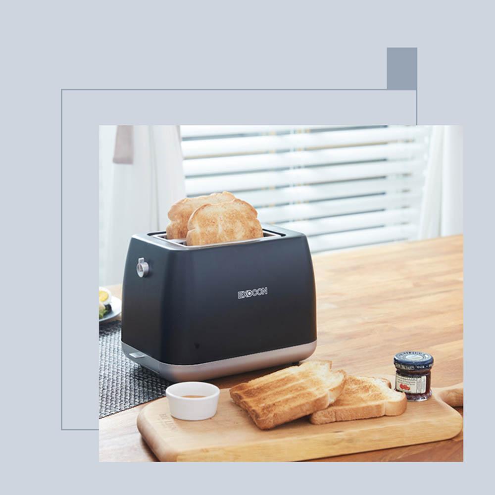 엑소콘 모나 토스터기 T-368/블랙
