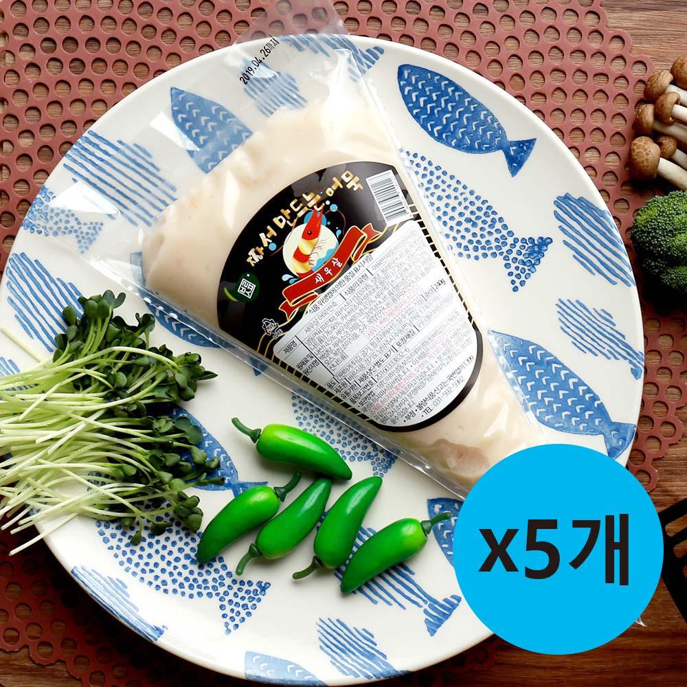 바른식품 짜서만드는 새우어묵 240g x5ea