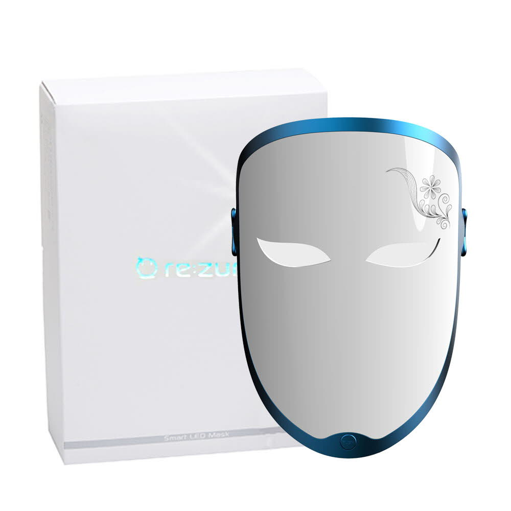 리쥼 LED마스크 NEW밴드타입형 5가지색 28개 파장 하루10분 건강한 피부미용마사지기