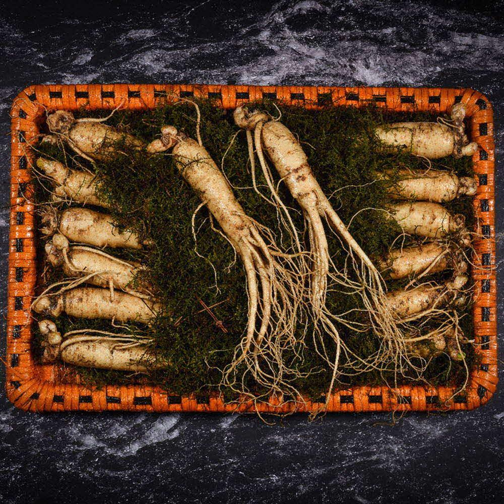 자연맛집 리얼 골드명작 수삼 선물세트(수삼 특상 14뿌리(750g) / 고급포장